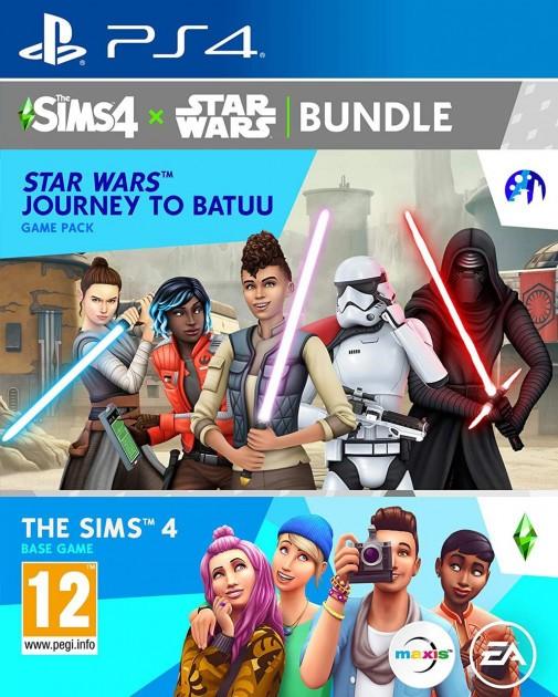 The Sims 4 + Star Wars: Подорож на Бату PS4