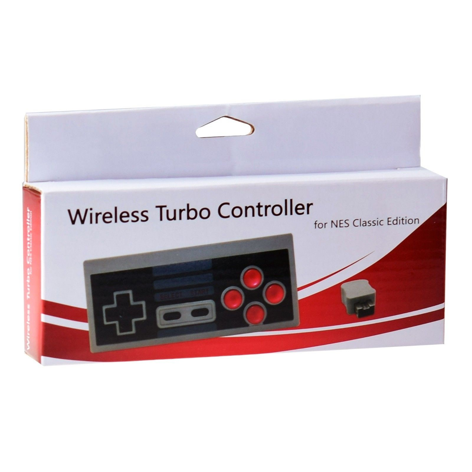 Беспроводной контроллер/джойстик/геймпад Wireless Turbo Controller for NES Classic Edition