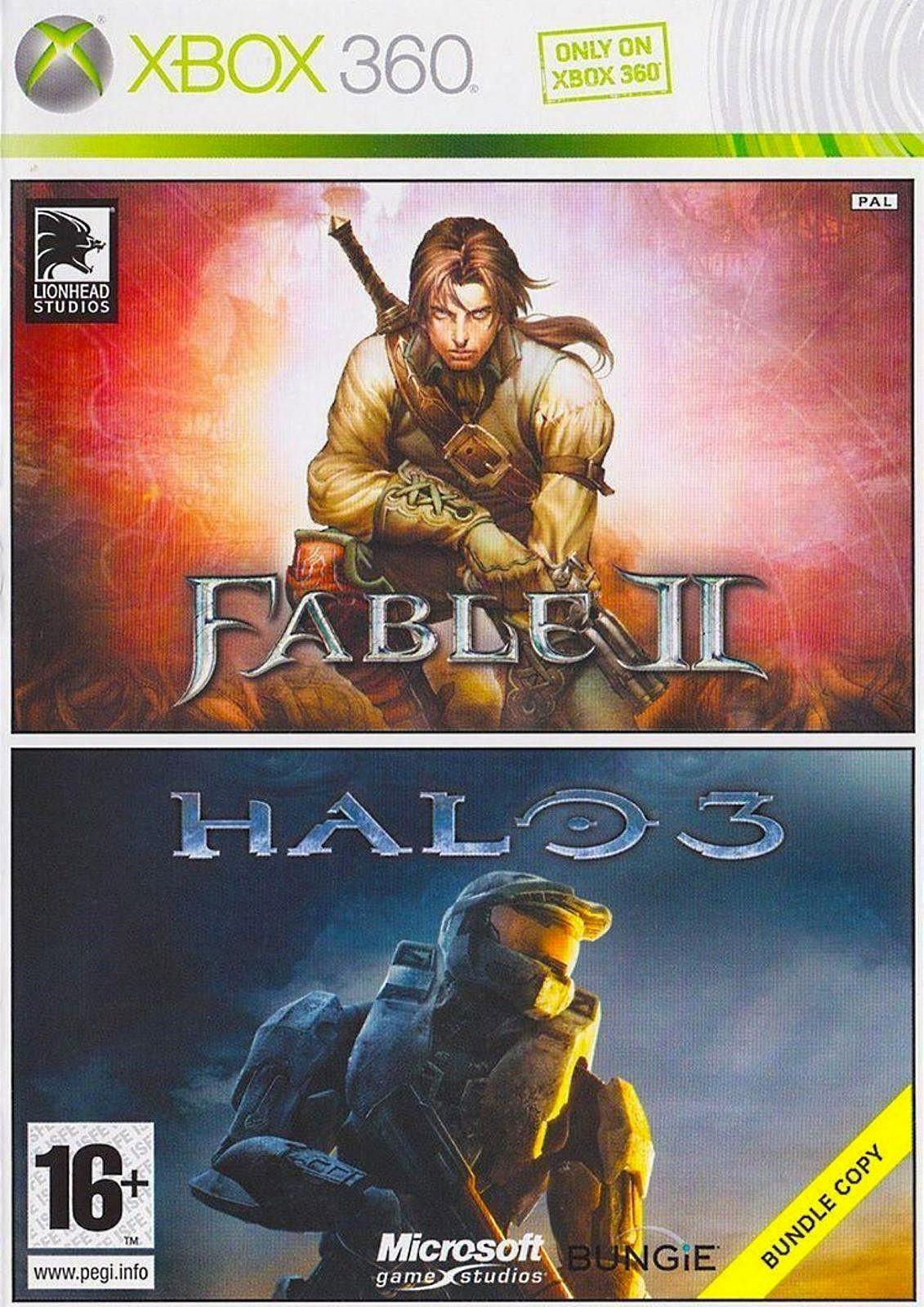 Fable II | Fable 2 + Halo 3 б/в X360
