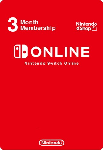 Nintendo Switch Online индивидуальная подписка на 3 месяца (регион Россия) (код)