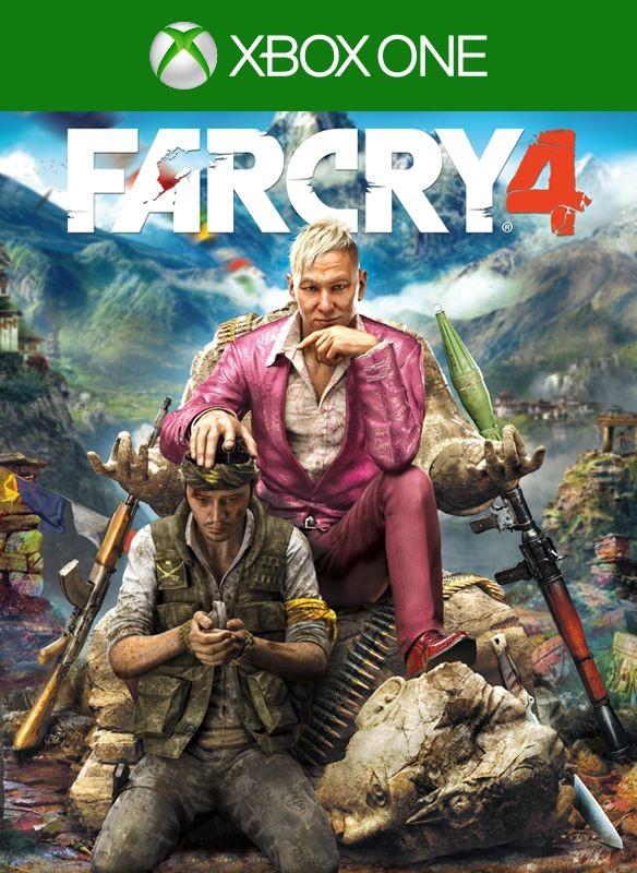 Far Cry 4 б/у XONE