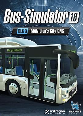Bus Simulator 16 - MAN Lion's City CNG Pack PC DIGITAL