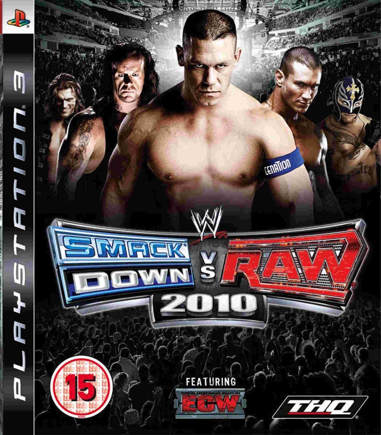 WWE SmackDown! vs. RAW 2010 б/у PS3