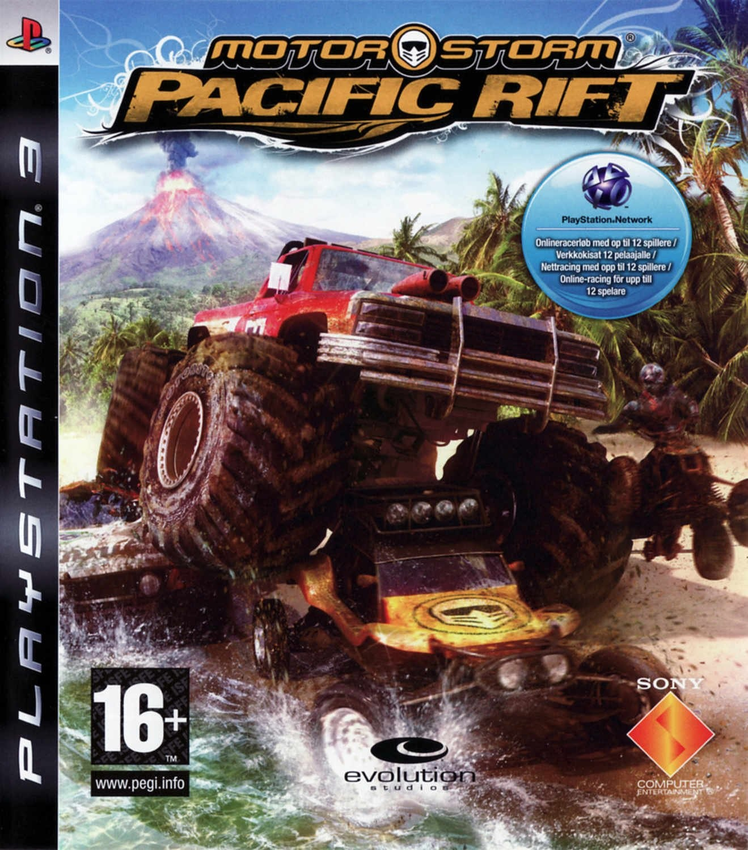 MotorStorm: Pacific Rift б/в PS3