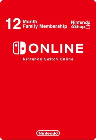 Nintendo Switch Online семейная подписка на 12 месяцев (регион Россия) (код)