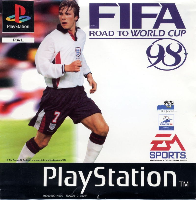 FIFA: Road to World Cup 98 б/в PS1