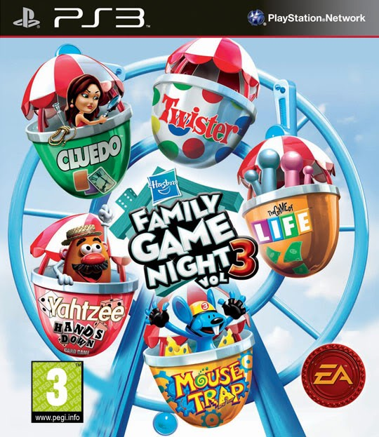 Hasbro Family Game Night Vol 3 б/у PS3