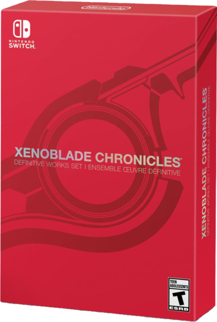 Xenoblade Chronicles Definitive Works Set SWITCH