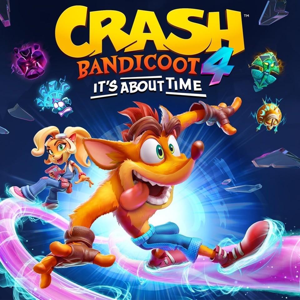 Прокат Crash Bandicoot 4 It's About Time від 7 днів PS4