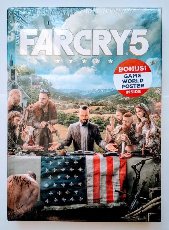 Артбук Far Cry 5 Collector's Edition Guide