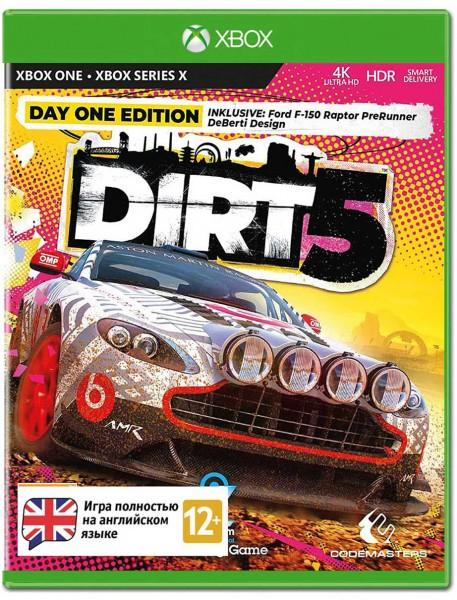Dirt 5. Видання першого дня XONE