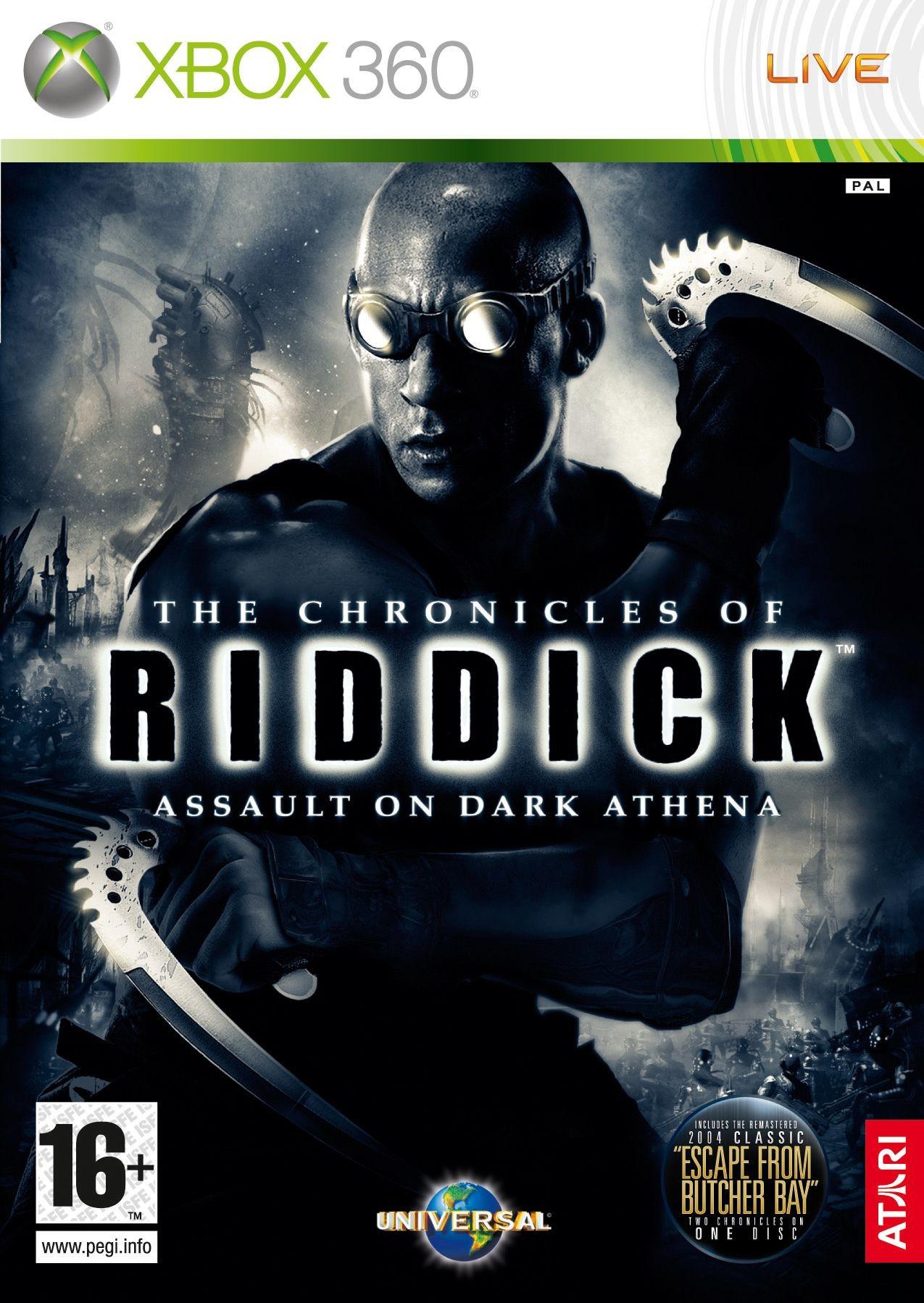 Chronicles of Riddick Assault on Dark Athena б/в X360