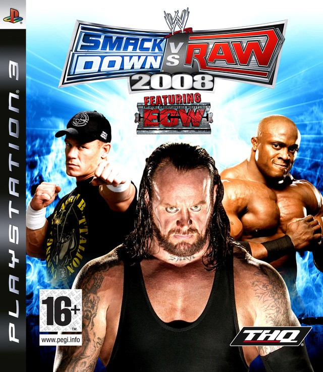 WWE SmackDown vs. RAW 2008 б/у PS3