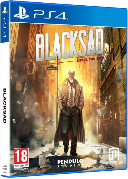 Blacksad: Under The Skin. Колекційне видання PS4