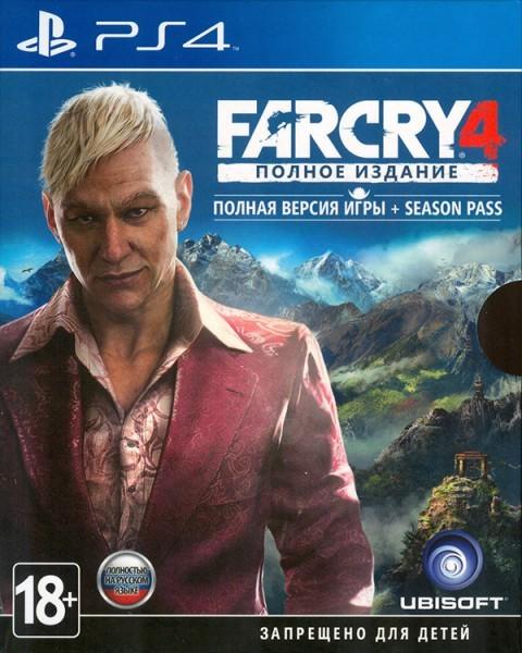 Far Cry 4. Полное издание (рус) PS4