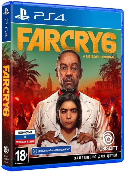 Far Cry 6 Standard Edition PS4