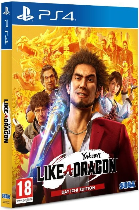Yakuza Like a Dragon Day Ichi Edition PS4