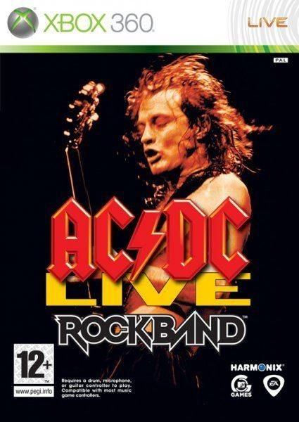 AC/DC Live Rock Band б/в X360
