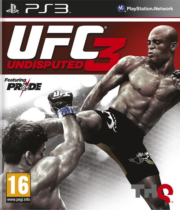 UFC UNDISPUTED 3 б/в PS3