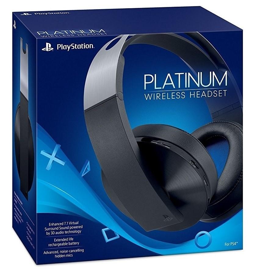 Беспроводная гарнитура Wireless Headset Platinum PS4