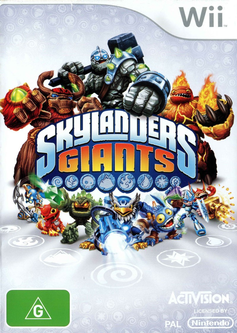 Skylanders Giants б/в Wii