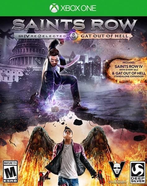 Saints Row IV Re-Elected | Saints Row 4 б/у XONE