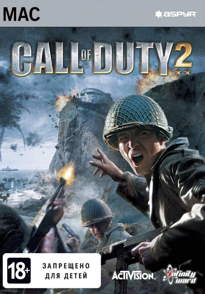 Call of Duty 2 (для Mac) PC DIGITAL