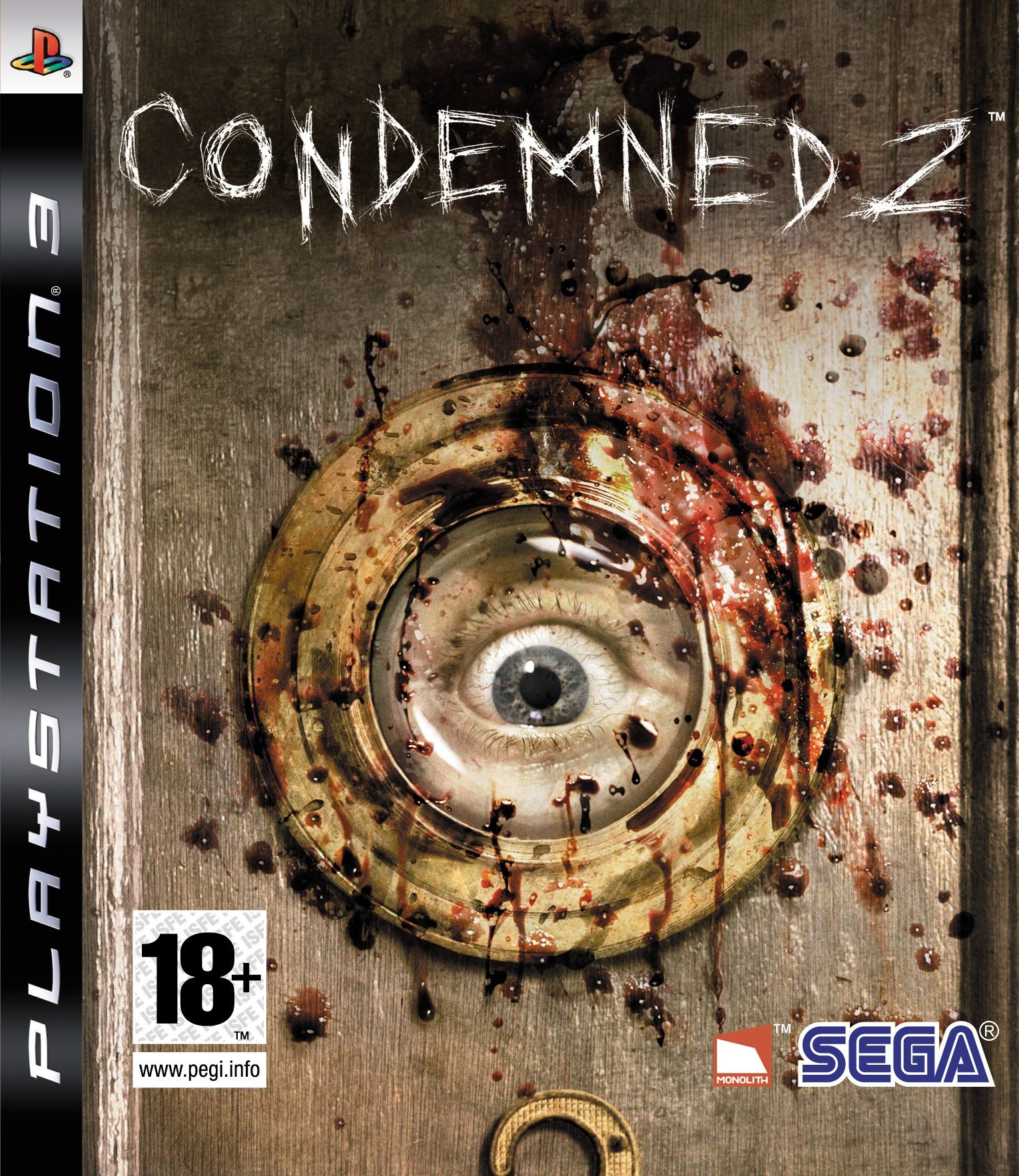 Condemned 2 б/у PS3