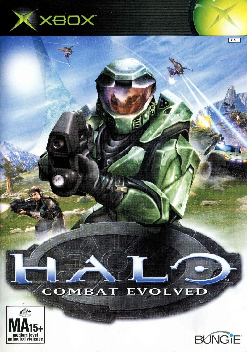 Halo Combat Evolved б/у XBOX