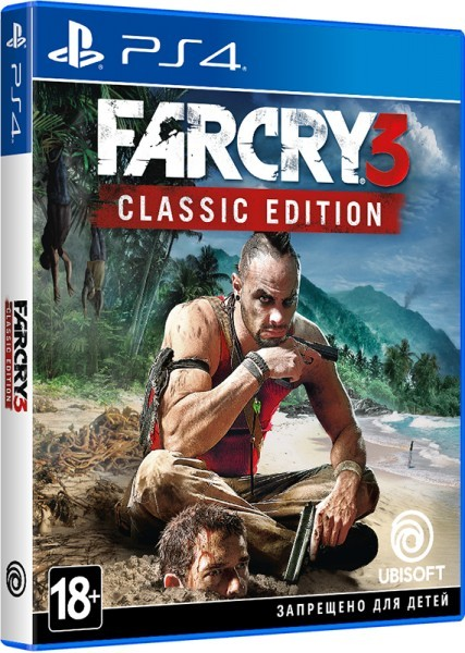 Far Cry 3. Classic Edition PS4