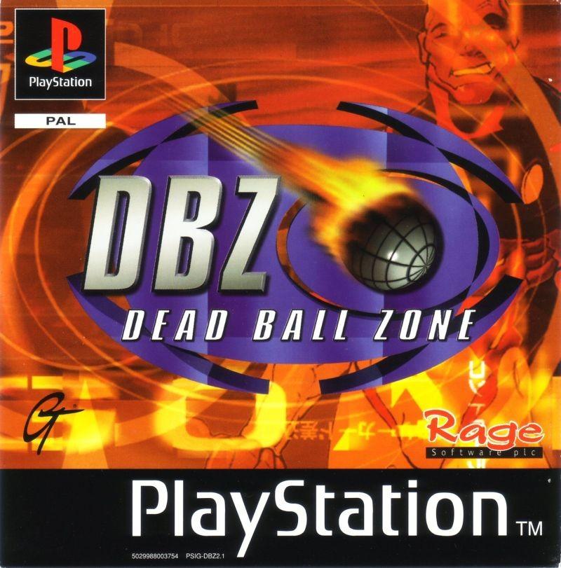 DBZ: Dead Ball Zone б/в PS1