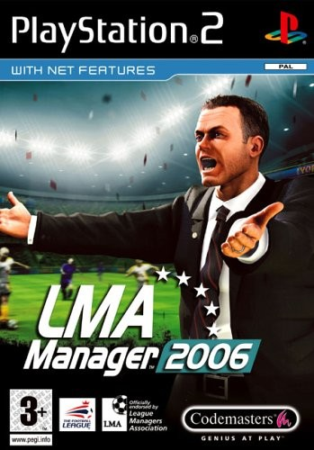 LMA Manager 2006 б/у PS2