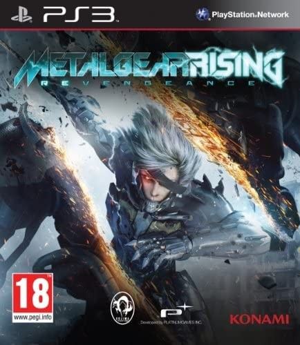 Metal Gear Rising Revengeance | MGS б/в PS3