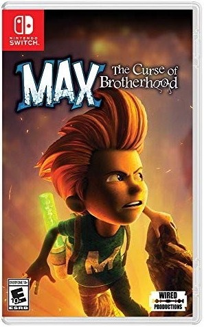 Max The Curse of Brotherhood SWITCH