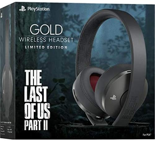 Беспроводная гарнитура Wireless Headset New Gold The Last Of Us Part II PS4