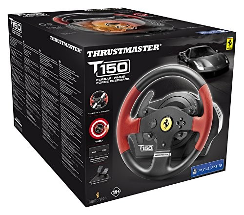 Руль Thrustmaster T150 Ferrari Force Feedback Racing Wheel PS3/PS4/PC