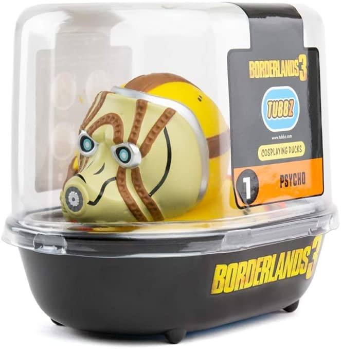 TUBBZ Borderlands 3 Psycho Collectible Rubber Duck Figurine | Фигурка коллекционная