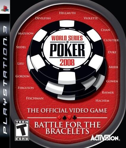 World Series of Poker 2008: Battle for the Bracelets б/в PS3
