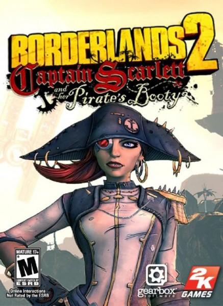 Borderlands 2 Капитан Скарлетт и ее пиратское сокровище PC DIGITAL