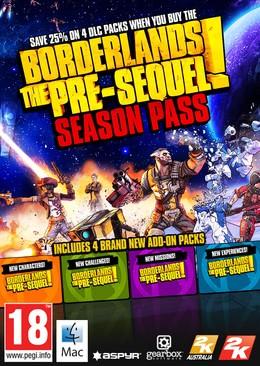 Borderlands: The Pre-Sequel! Season Pass (для MAC) PC DIGITAL