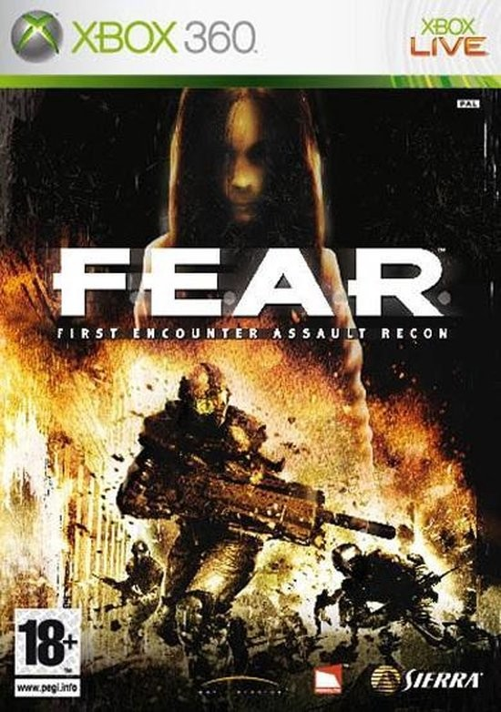 F.E.A.R. First Encounter Assault Recon б/в X360