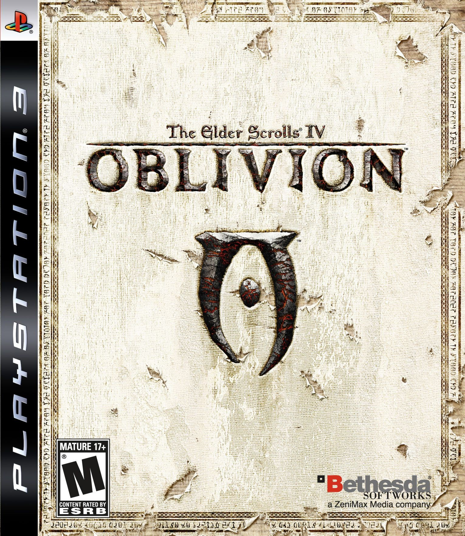 The Elder Scrolls IV Oblivion б/у PS3