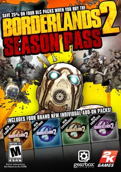 Borderlands 2. Season Pass. Доповнення PC DIGITAL