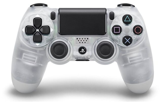 Бездротовий контролер/джойстик/геймпад DualShock 4 Wireless Controller Crystal V2