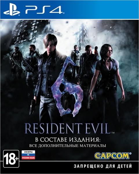 Resident Evil 6 | RE6 PS4
