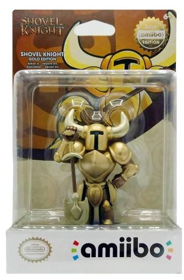 Shovel Knight: Интерактивная фигурка amiibo – Shovel Knight Treasure Trove: Gold