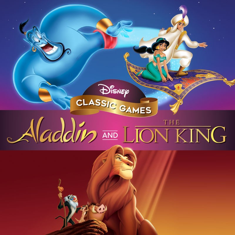 Прокат Disney Classic Games Aladdin and The Lion King від 7 днів PS4