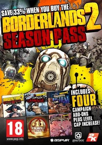 Borderlands 2. Season Pass. Дополнение (для Mac) PC DIGITAL