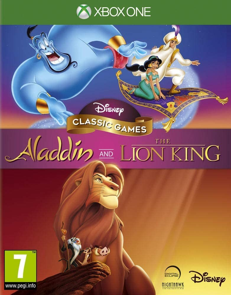 Disney Classic Games Aladdin and The Lion King XONE