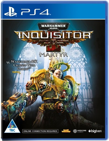 Warhammer 40,000: Inquisitor - Martyr. PS4